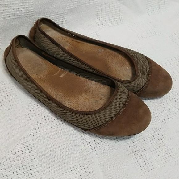 82a29772 Patagonia Maha Breathe Brown Leather Flats 9.5. M_5a5d73de1dffda9224c4a8ca